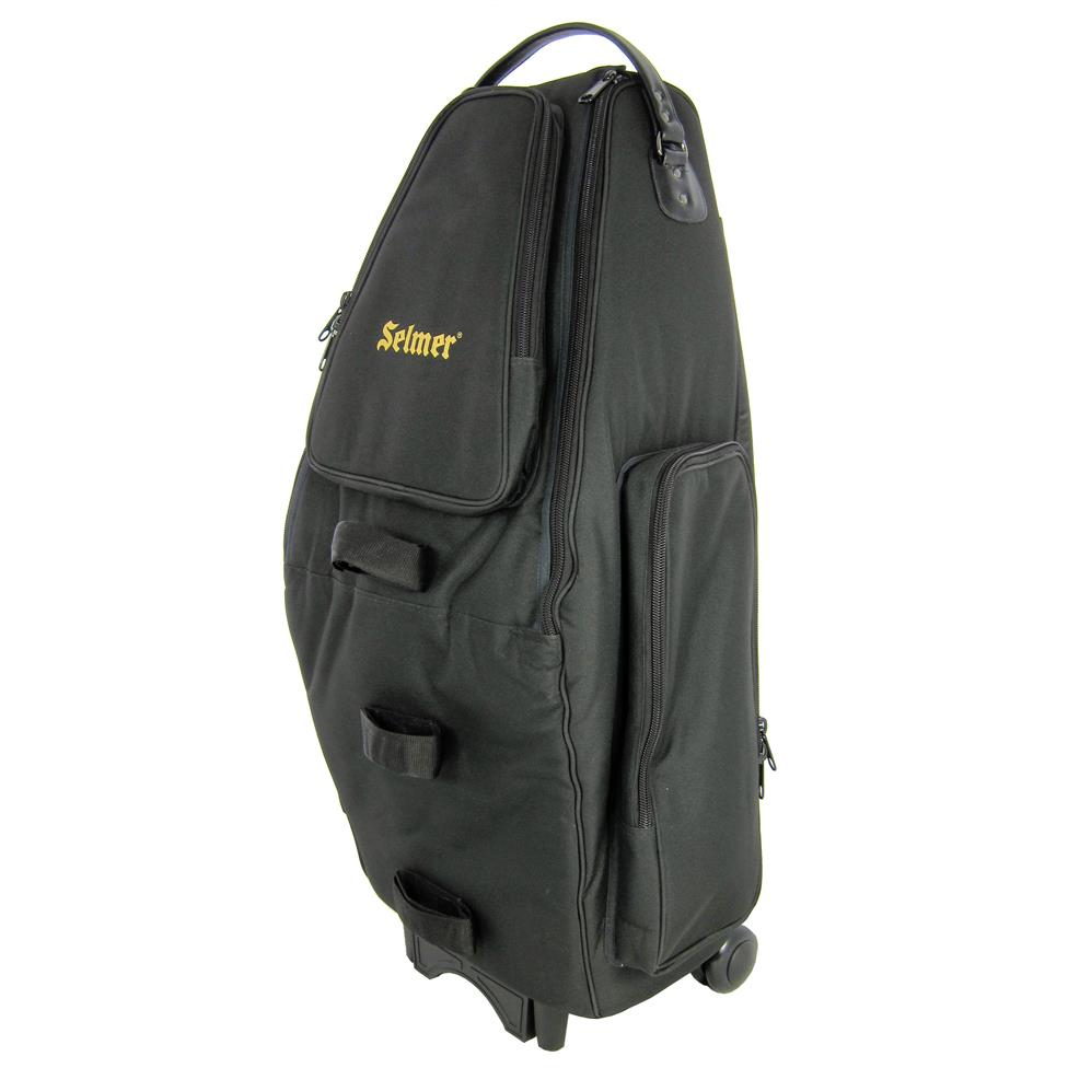 Bach Selmer wheelie double sax (alto/tenor) case (synthetic) Thumbnail Image 0
