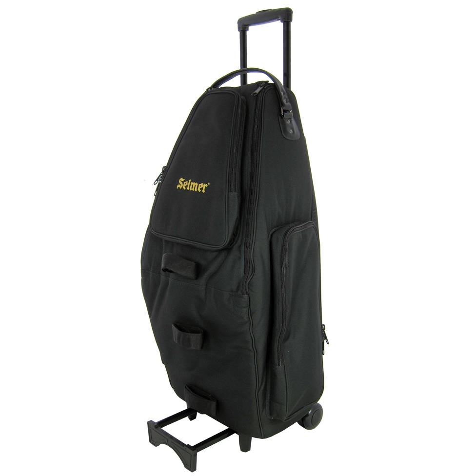 Bach Selmer wheelie double sax (alto/tenor) case (synthetic) Thumbnail Image 1