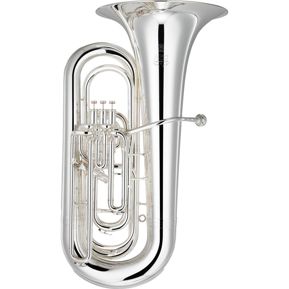 Yamaha Neo YBB632S B flat tuba (silver) Image 1