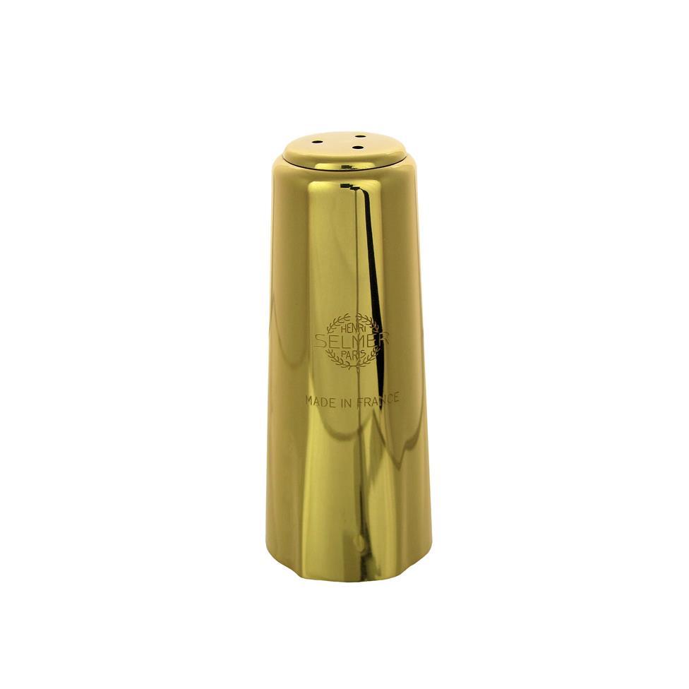 Selmer alto sax cap (gold lacquer)