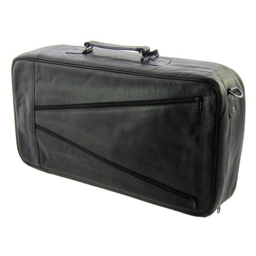 Vincent Bach compact triple trumpet gigbag (leather)