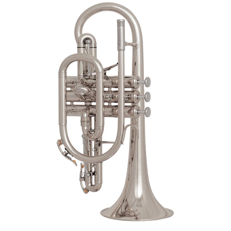 Geneva Heritage B-flat cornet (silver) Image 1