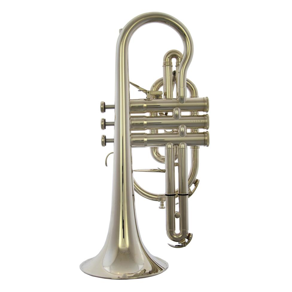 Besson Sovereign 928GT B-flat cornet (silver)