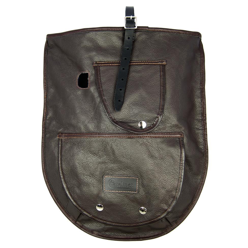 Catelinet euphonium half cover (brown leather)