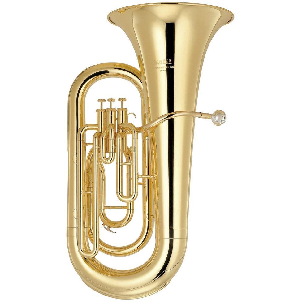 [Ex-Demo] Yamaha YEB201 E-flat tuba (lacquer) Image 1