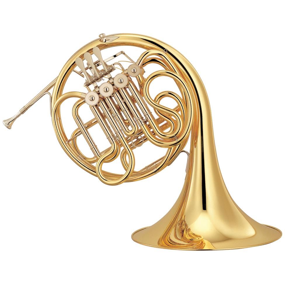 Yamaha YHR-567 French horn (lacquer) Image 1