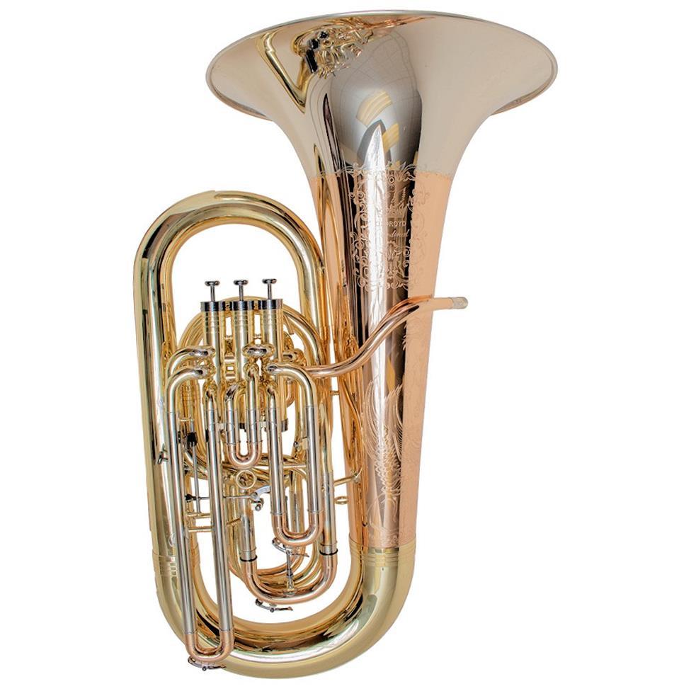 [Ex-demo] Geneva Cardinal EE-flat tuba (lacquer) Image 1