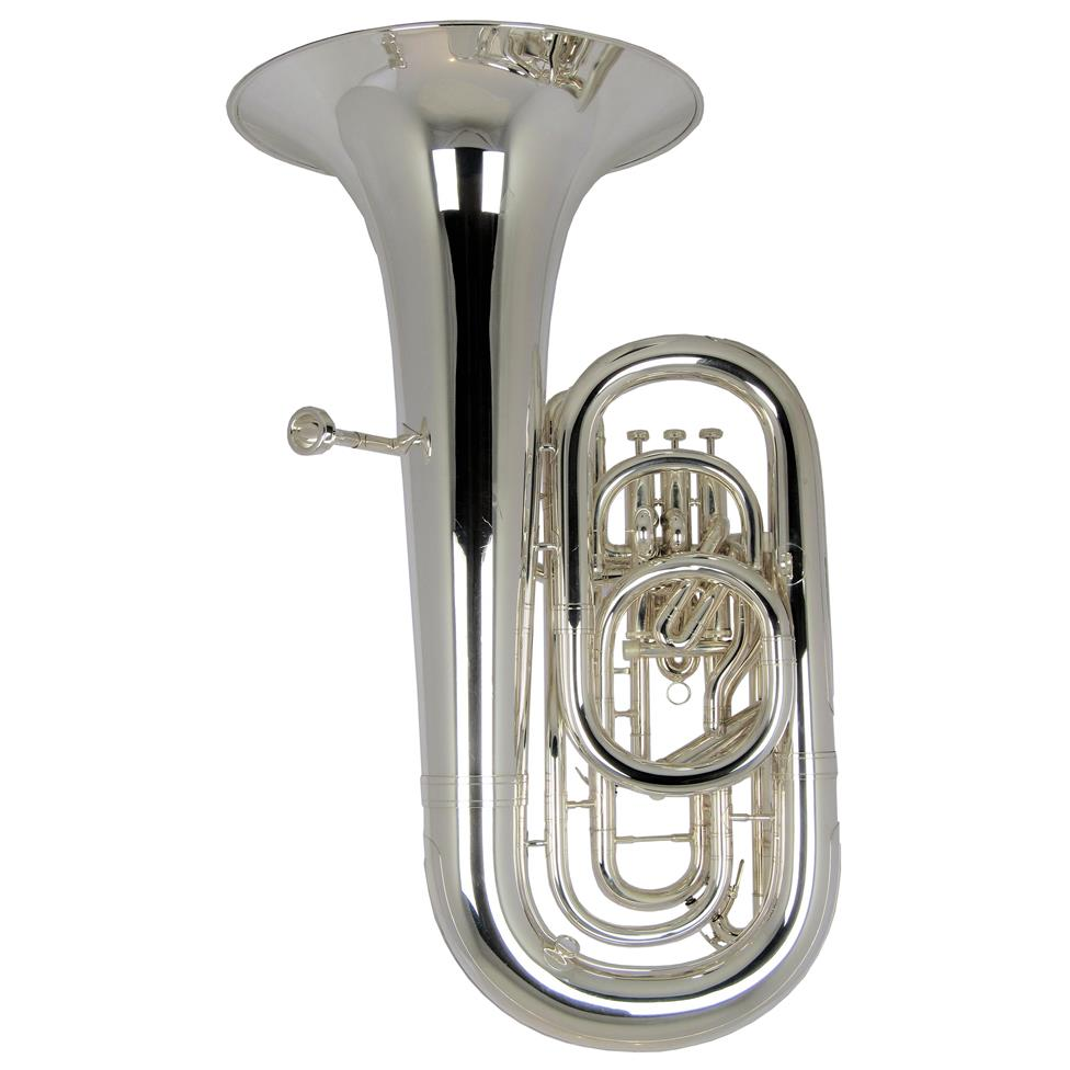 [Ex-Demo] Willson 3400TA E-flat tuba (silver)