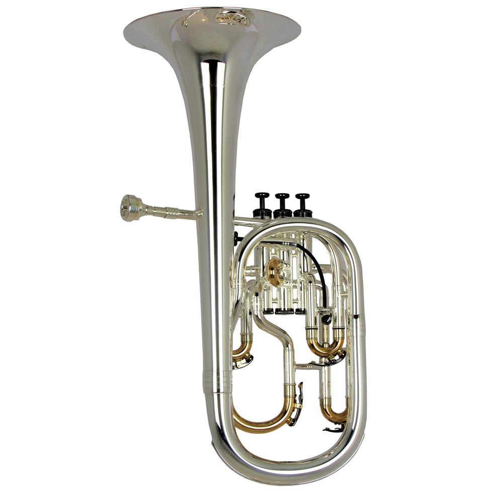 Geneva Cardinal tenor horn (silver)