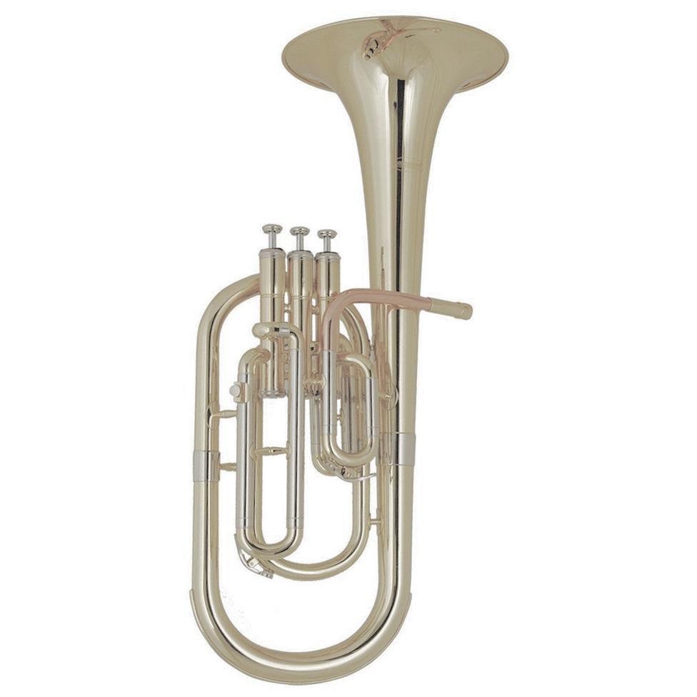 [Ex-Demo] Elkhart 100TH tenor horn (silver) Image 1