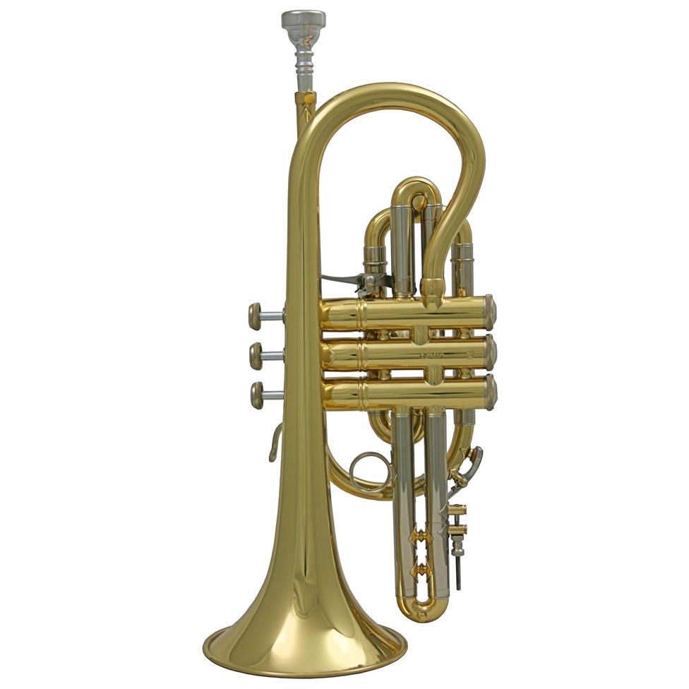 Vincent Bach 184ML B-flat cornet (lacquer)