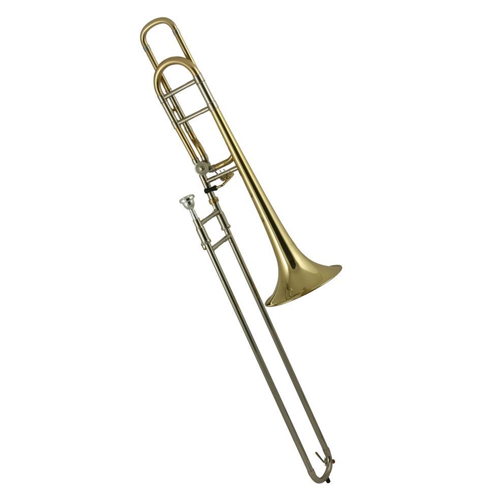 Catelinet CTB13L B flat/F tenor trombone (lacquer) Thumbnail Image 0
