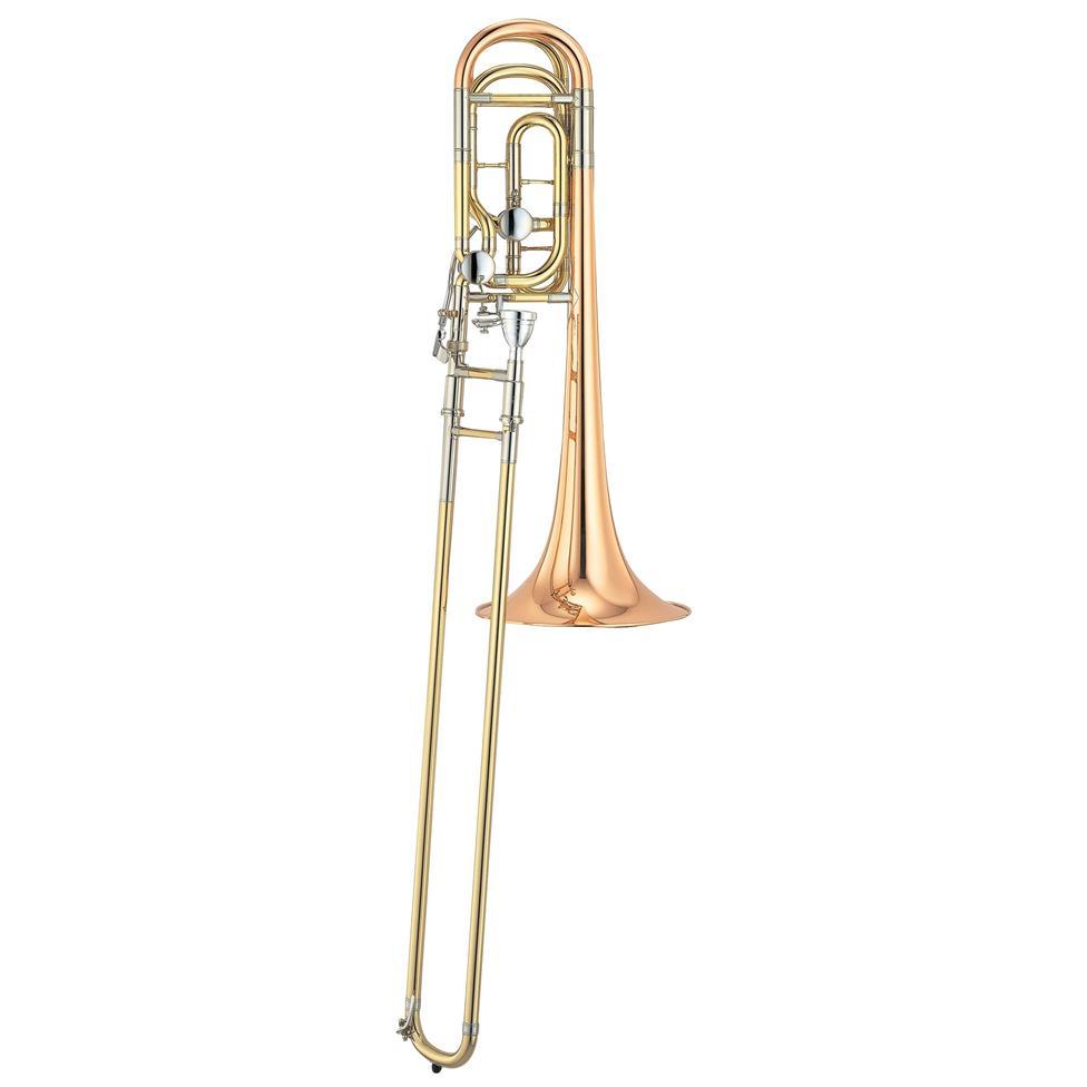Yamaha Xeno YSL882G B flat/F tenor trombone (lacquer) Image 1