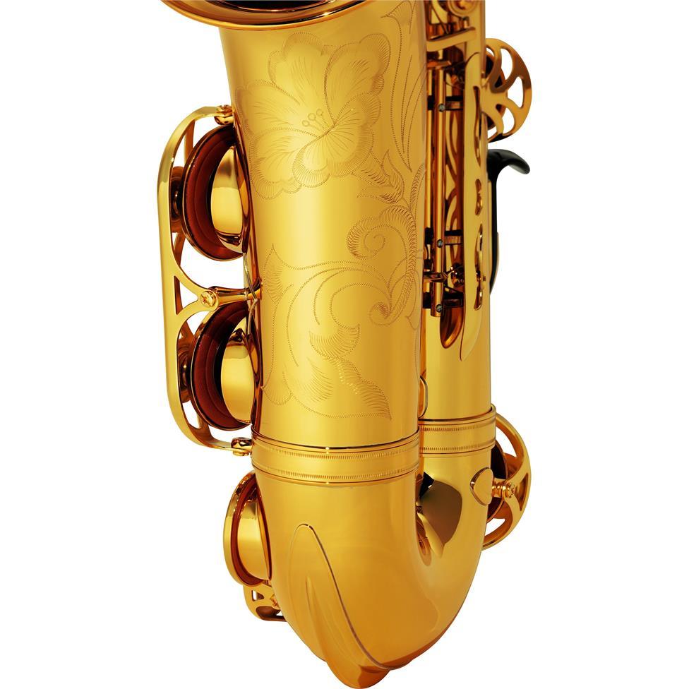 Yamaha YAS-62 alto saxophone - engraving