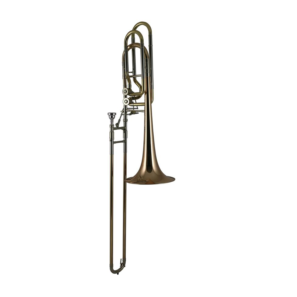 Conn 62HI twin rotor bass trombone (lacquer) Image 1