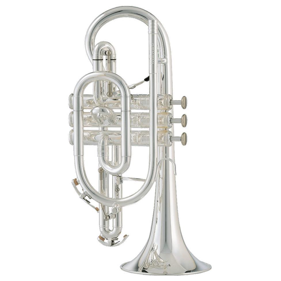 [Ex-Demo] Geneva Mentor B-flat cornet (silver) Image 1