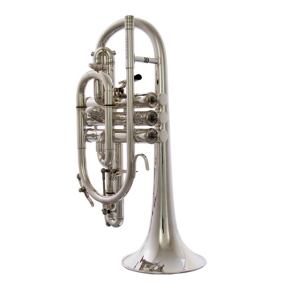 [Ex-demo] Geneva Symphony B-flat cornet (silver)