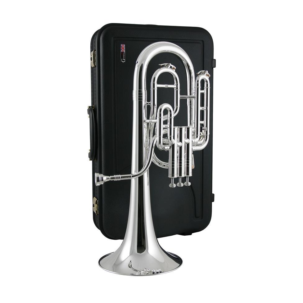 [Ex-Demo] Geneva Symphony tenor horn (silver)