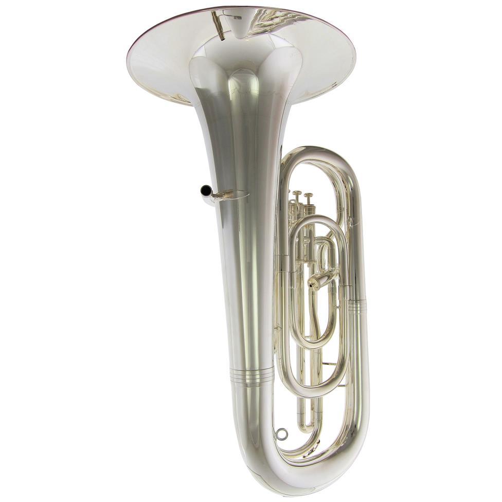 [Ex-Demo] Geneva Mentor E-flat tuba (silver)