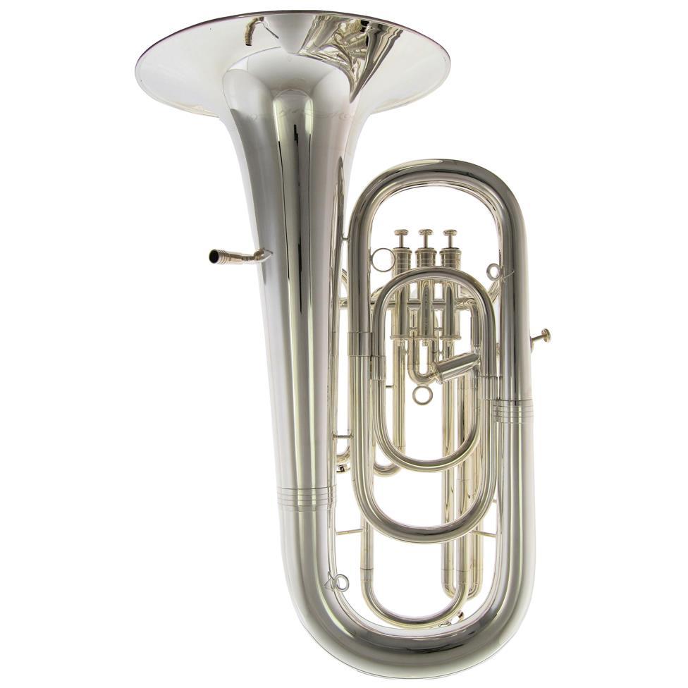 Geneva Mentor E-flat tuba (silver)