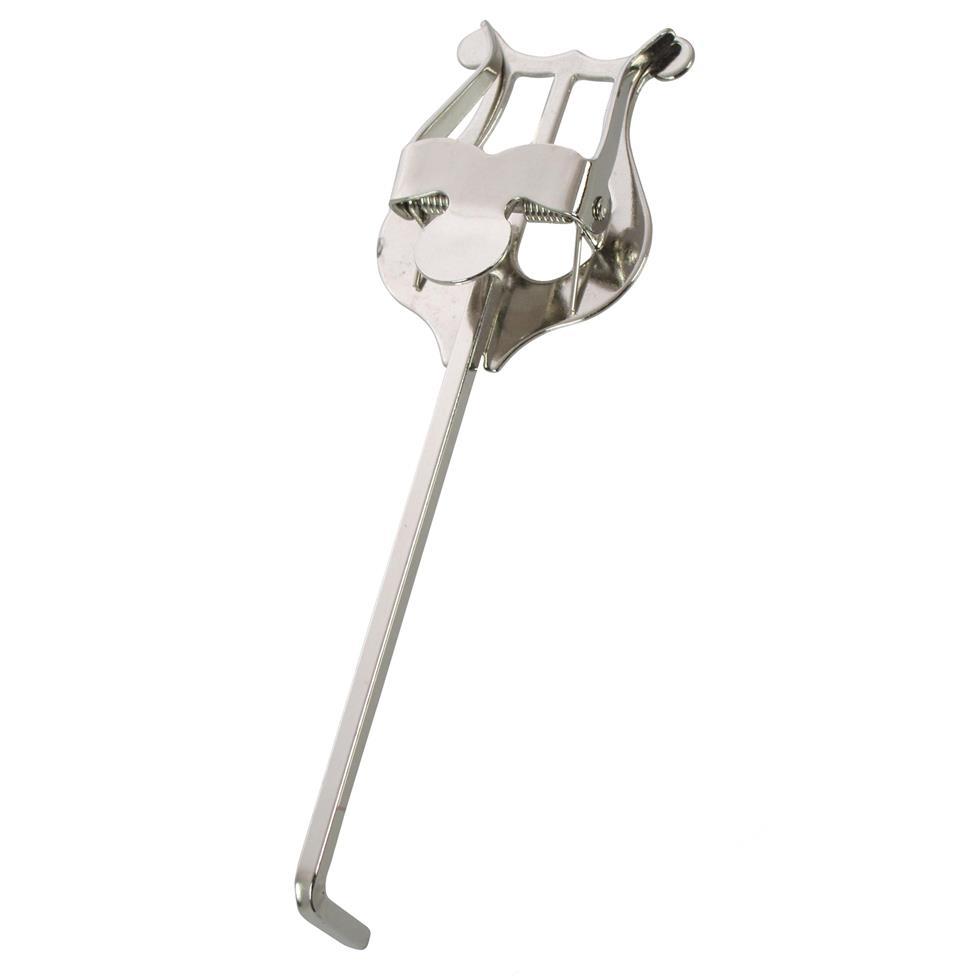 Trumpet lyre (¾ in. bend, nickel) Image 1