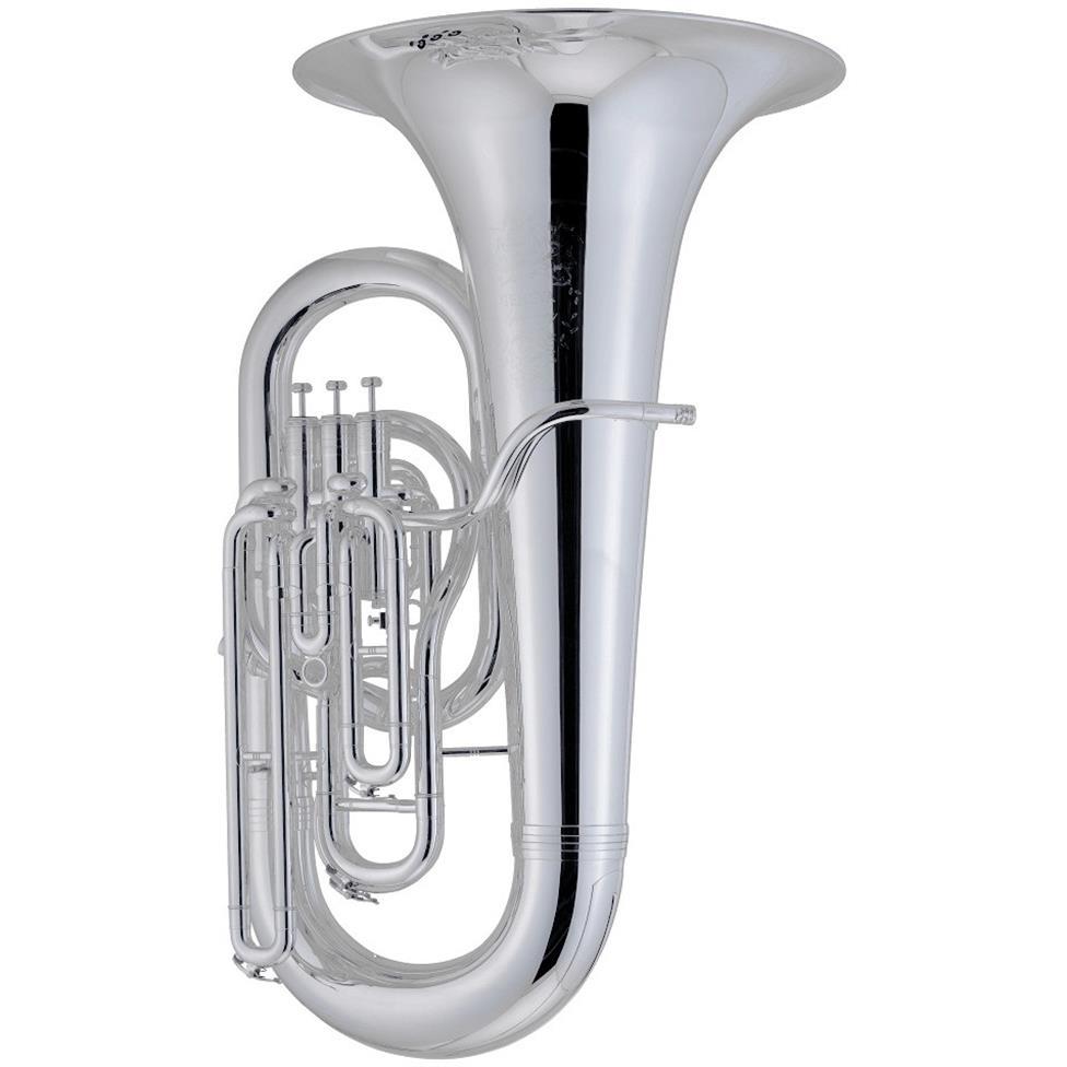 [Ex-demo] Geneva Symphony E-flat tuba (silver) Image 1