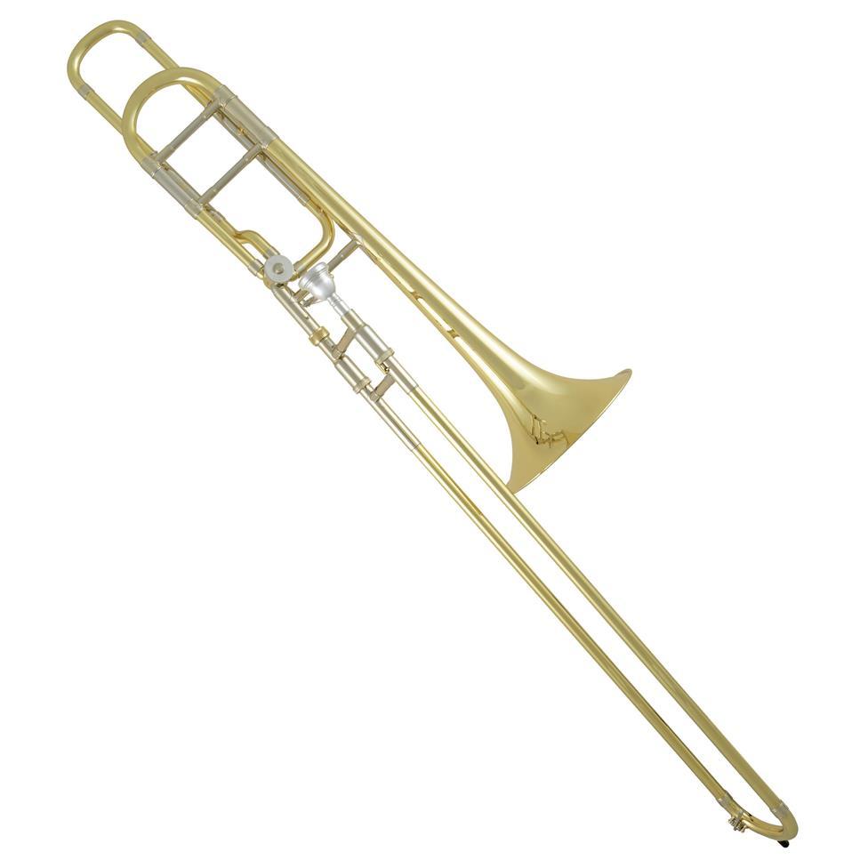 Vincent Bach 42BO B-flat/F tenor trombone