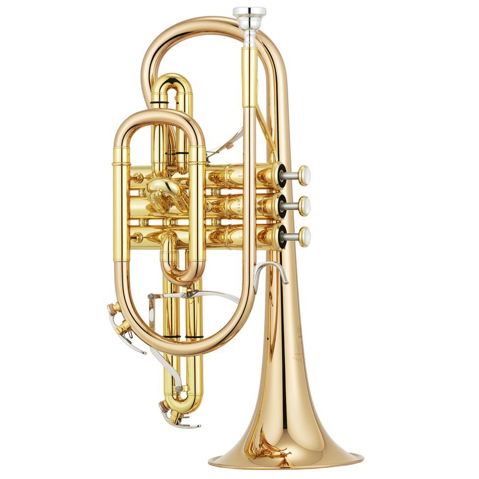 [Ex-demo] Yamaha Neo YCR-8335G B-flat cornet (lacquer) Image 1