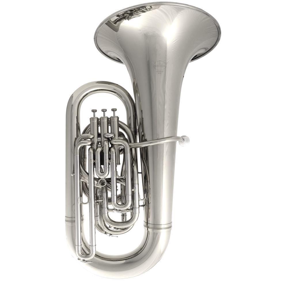 Besson Sovereign 9812 E-flat tuba (silver) Image 1