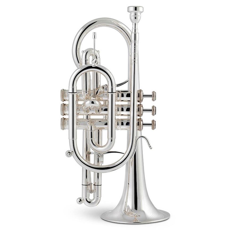 Stomvi Titan B-flat cornet (copper bell) Image 1