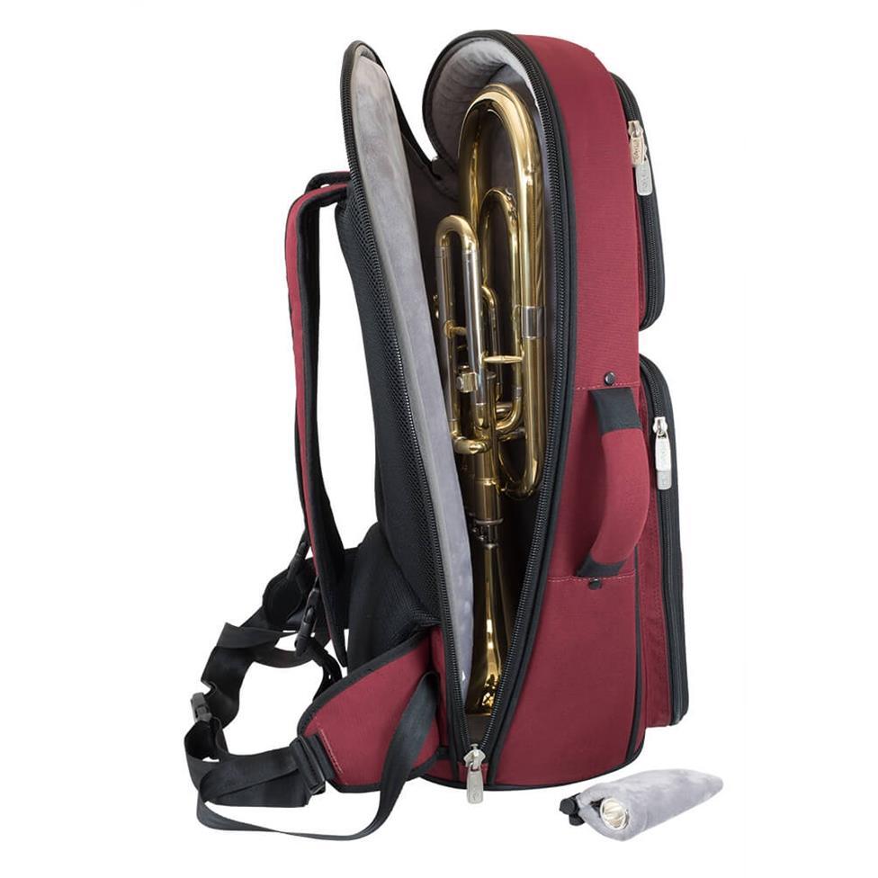 Tom & Will tenor horn gigbag (burgundy) Thumbnail Image 4