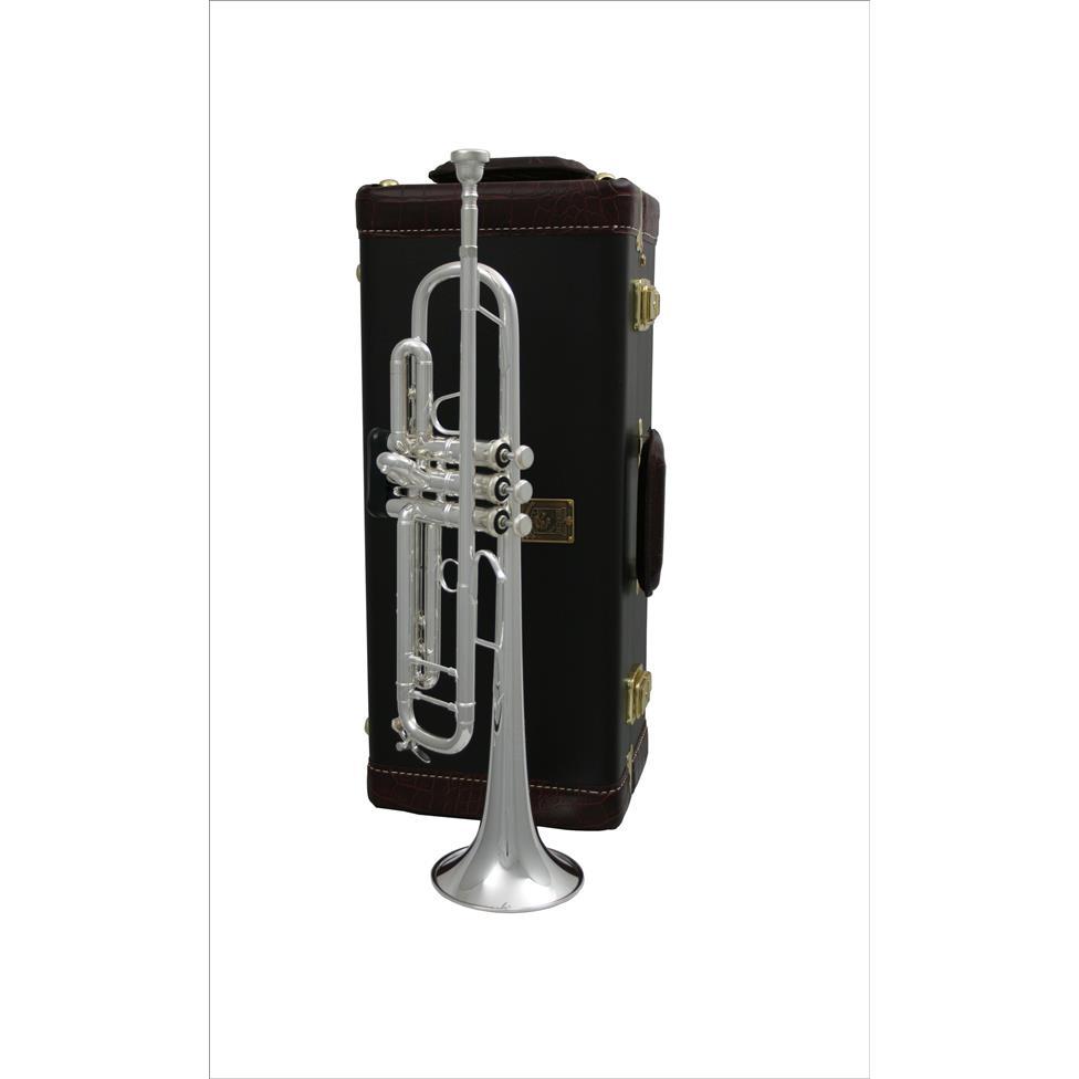 Bach Stradivarius 180ML37S B flat trumpet (silver) Thumbnail Image 2
