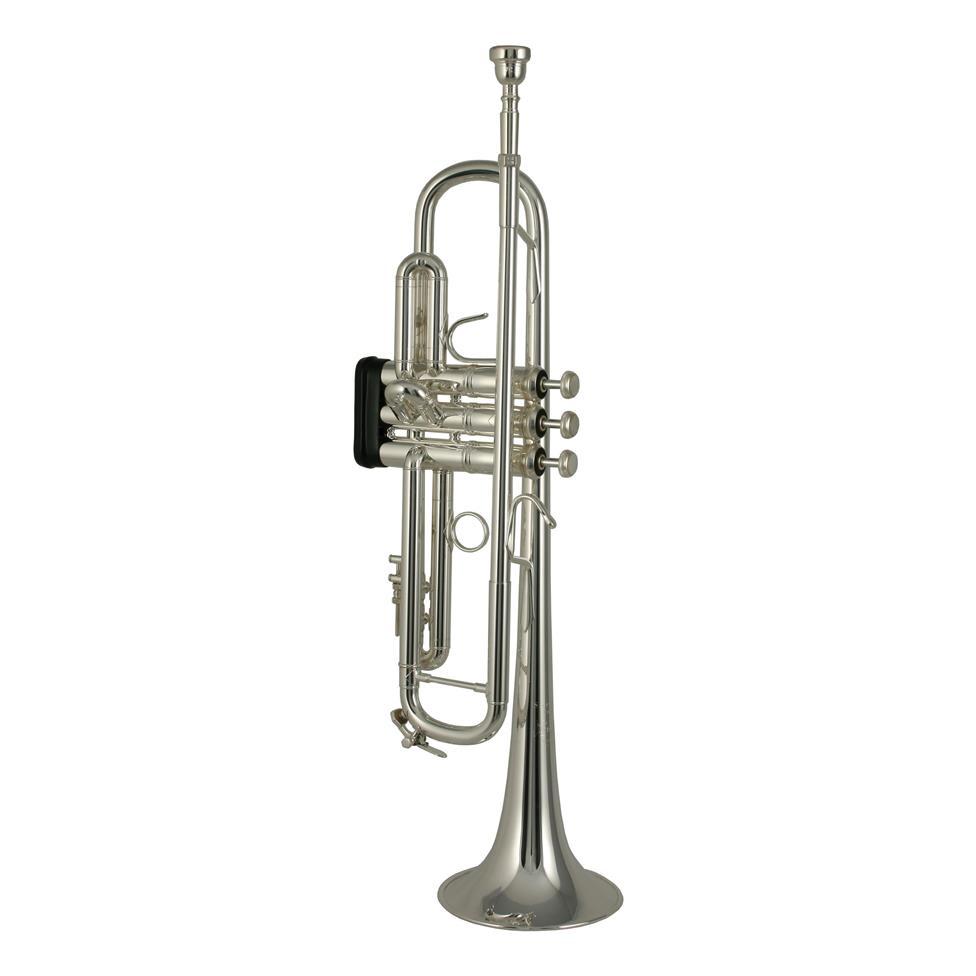 Bach Stradivarius 180ML37SRL B flat trumpet (silver) Thumbnail Image 0