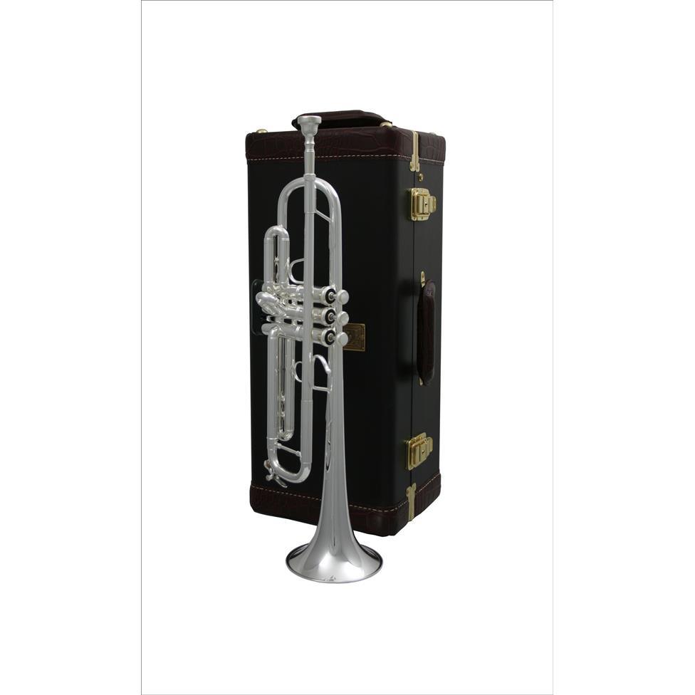 Bach Stradivarius 180ML37SRL B flat trumpet (silver) Thumbnail Image 2