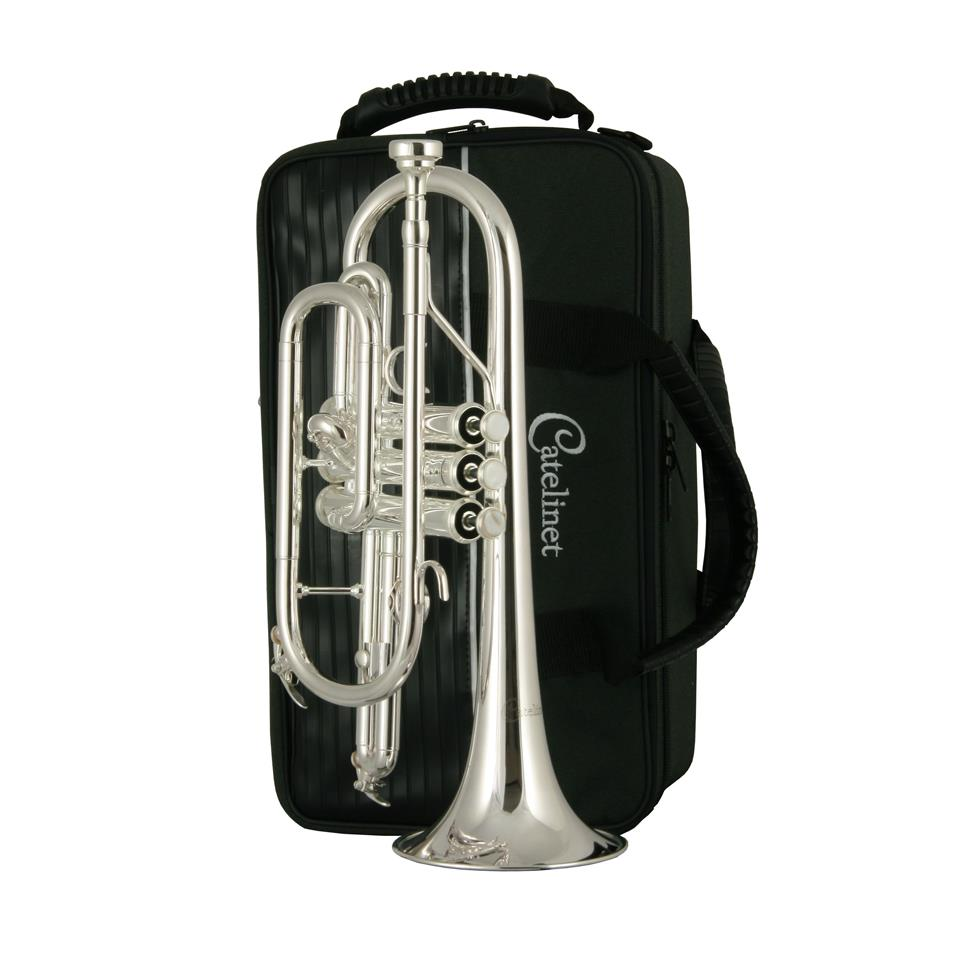 Catelinet CCR12S B flat cornet (silver) Thumbnail Image 2