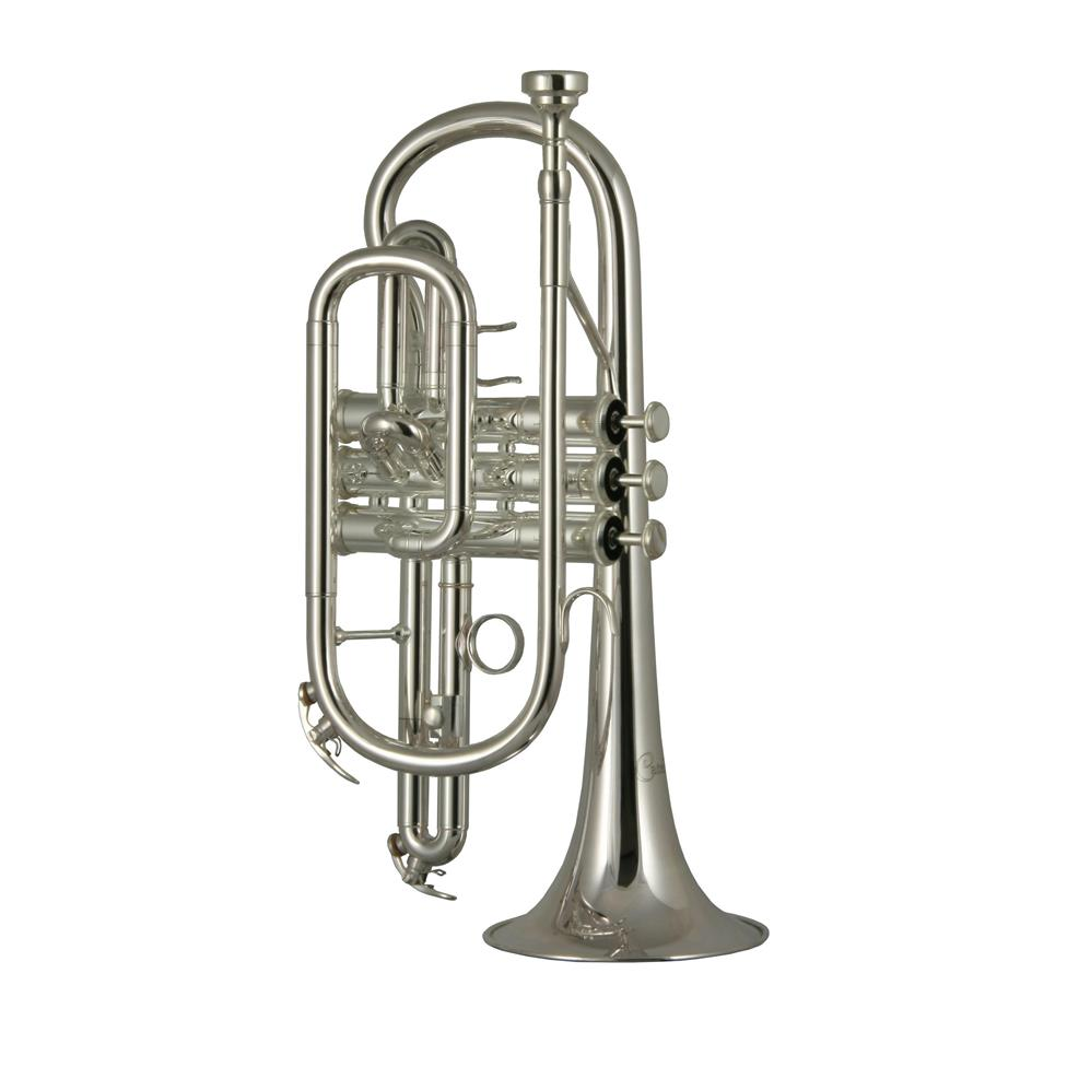 Catelinet CCR12S B flat cornet (silver) Thumbnail Image 0