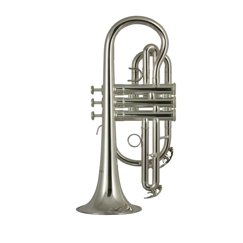 Catelinet CCR12S B flat cornet (silver) Thumbnail Image 1